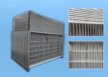 Bauzaun EUTOP 36er Set inkl. Standfuß und Verbinder