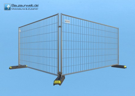 Bauzaun Eutop Economy 25er Set